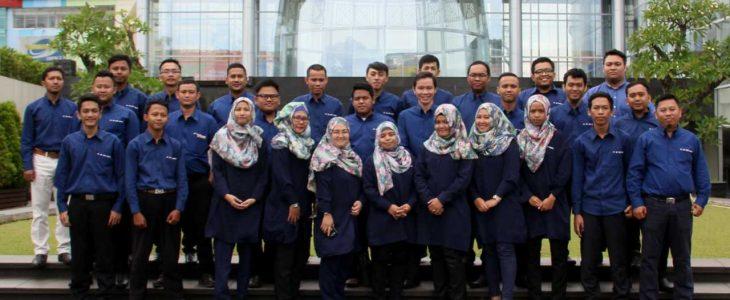 Para Karyawan PT. Bina Artha Semesta