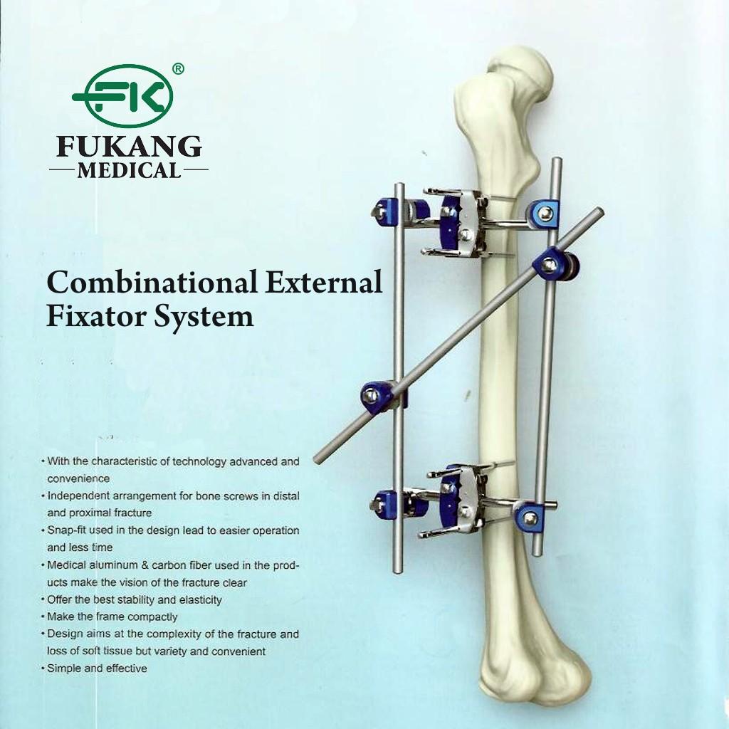 Combinational External Fixator System Fiksator Eksternal Kombinasi